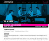 The Beatles, Lesson 2: The Beatles and Teen Culture