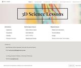 6th Grade Science 3D Lesson Plans