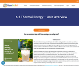 6.2 Thermal Energy