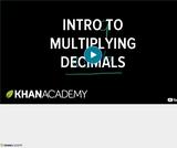 Arithmetic Operations: Multiplying Decimals 2