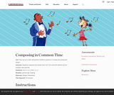 Composing in Common Time