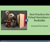 Utah State Library: Best Practices for Virtual Story-times and Book-talks