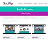 BootUpPD Curriculum Scratch (Grades 3+)
