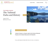 The National Parks and History