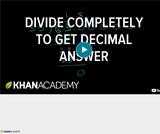 Arithmetic Operations: Dividing Decimals 1