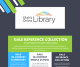 Utah's Online Library Gale Reference Collection One-Pager