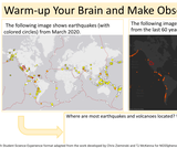 5.1.1 Patterns in Earth's Features