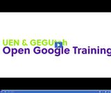 UEN & GEGUtah Open Google Certified Educator Training: Google Sites