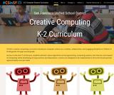 K-2 Computer Science Curriculum