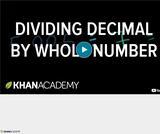 Arithmetic Operations: Dividing Decimals 3
