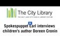 Earl E. Literacy: Author Doreen Cronin