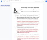 BIO.1.3: Episode 2 - A Ride on the Carbon Cycle - Journey of a Carbon Atom Answer Key