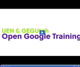 UEN & GEGUtah Open Google Certified Educator Training: Sheets