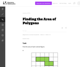 3.MD Finding the Area of Polygons