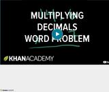 Arithmetic Operations: Multiplying Decimals 3