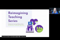 Reimagine Teaching Webinar Series: Boosting Achievement for Students with Limited Formal Education