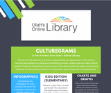 Utah's Online Library CultureGrams One-Pager
