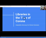 Utah State Library: Libraries in the Time of Corona - Adaptable Advocacy for School Librarians