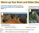 2.1.2 Changing Earth's Surface Student Science Experience