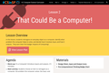 FUSD's Creative Computing K-2 Curriculum - Red: Unit 1 Lesson 2