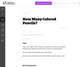 3.NBT How Many Colored Pencils?