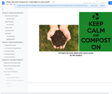 Keep Calm and Compost On