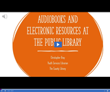 Utah State Library: Audiobooks and Electronic Resources at the Public Library