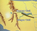 A Peoples' History of Utah: A New Land. Mormon Trail compared to Oregon Trail.