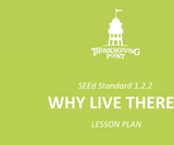 1.2.2 Lesson Plan - Why Live There
