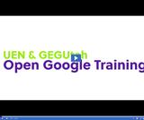 UEN & GEGUtah Open Google Certified Educator Training: Google Maps/Earth/Scholar