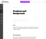 A-CED Products and Reciprocals