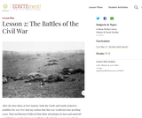 Lesson 2: The Battles of the Civil War