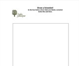 Ogden Nature Center: Draw a Scientist Worksheet