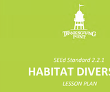 2.2.1 Lesson Plan - Habitat Diversity