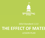 1.3.3 Lesson Plan - Effect of Materials
