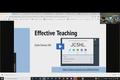 C-Forum Oct 21: Effective Teaching