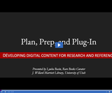 Utah State Library: Plan Prep Plug-In - Developing Digital Content for Research and Reference