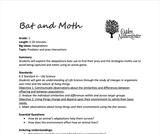 Ogden Nature Center: Bat-Moth Game