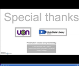 Utah State Library: Best Practices for Using Library Resources for Concurrent Enrollment Instructors-First Sprint