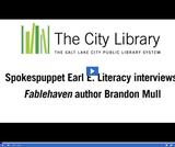 Earl E. Literacy: Author Brandon Mull