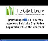 Earl E. Literacy: Police Chief Chris Burbank