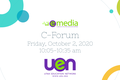 October C-Forum: eMedia for eLearning