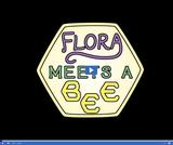 Flora Meets a Bee