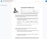 BIO.1.2: Episode 1 - Tangled Webs - Ecosystem Model Lab Worksheet