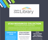 Utah's Online Library Utah Resources One-Pager