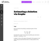 A-REI Estimating a Solution via Graphs