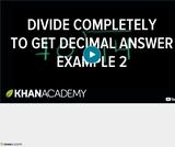 Arithmetic Operations: Dividing Decimals 2