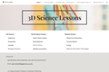 6th Grade Science 3D Lesson Plans